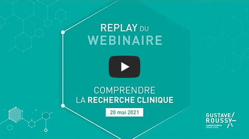 Vidéo Youtube - Comprendre la recherche clinique