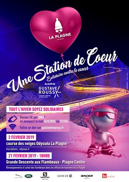 Programme La Plagne - Gustave Roussy 2019