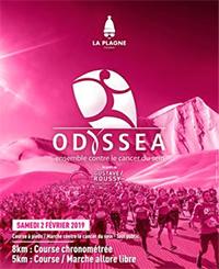 Course des neiges Odyssea-La Plagne