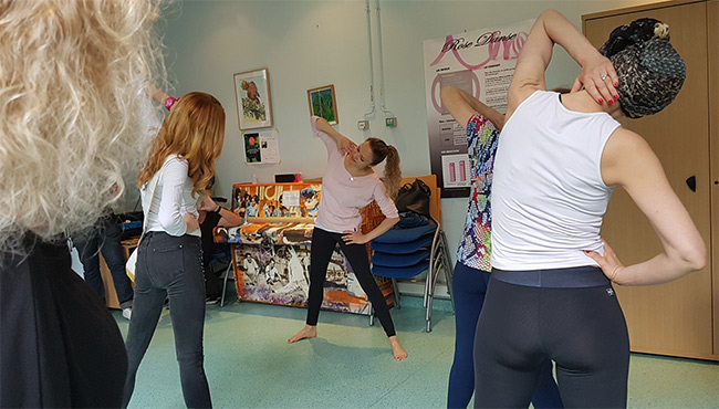Cours Rose Danse à Gustave Roussy