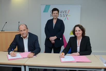 Gustave Roussy et CentraleSupélec signent un accord de partenariat