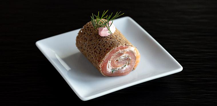 Galette de sarrasin saumon et tarama