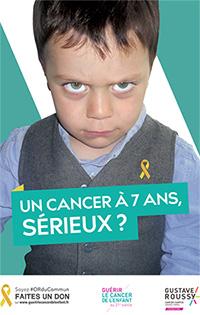 Un cancer à 7 ans, sérieux ?