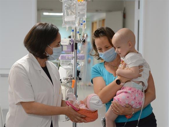À propos du département de cancérologie de l'enfant