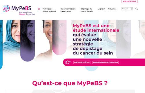 My PeBS site web