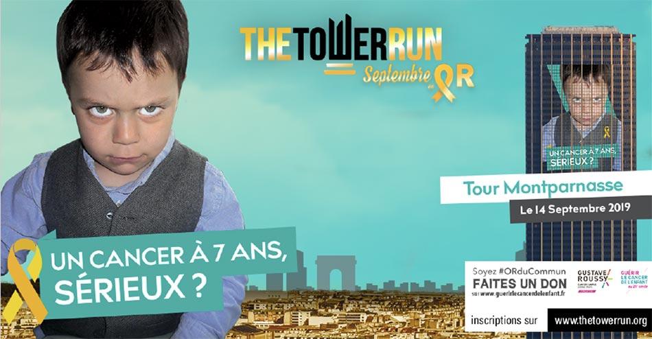 TheTowerRun Montparnasse Septembre en OR