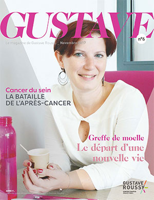 Le magazine Gustave n°6, de Gustave Roussy, est paru