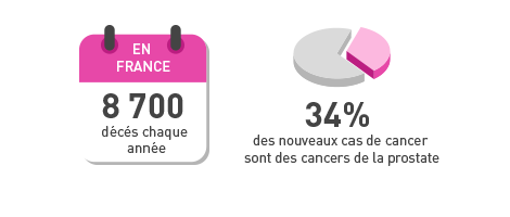 Graphique cancer de la prostate
