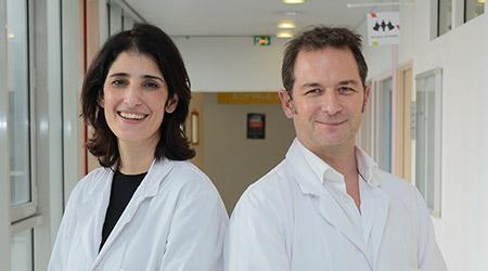 Dr Ines Vaz-Luis, Dr Florian Scotté