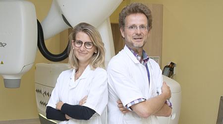 Dr Charlotte Robert - Dr Frédéric Dhermain