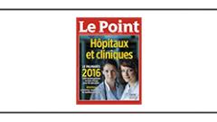 Palmarès des Hôpitaux 2016 du magazine le Point
