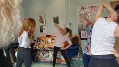 Actualité lancement des ateliers Rose Danse à Gustave Roussy
