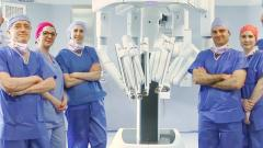 Equipe chirurgie robotique Gustave Roussy