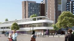 Projet du nouveau bâtiment de Gustave Roussy, accueillant l'Hôpital de Jour et le Wellness Center, réalisé par GA Smart Building