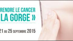 Semaine contre les cancers ORL