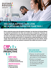 Brochure Cap sur la médecine prédictive