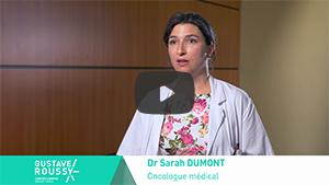 Explications en vidéo du Dr Dumont sur les avancées des traitements des sarcomes