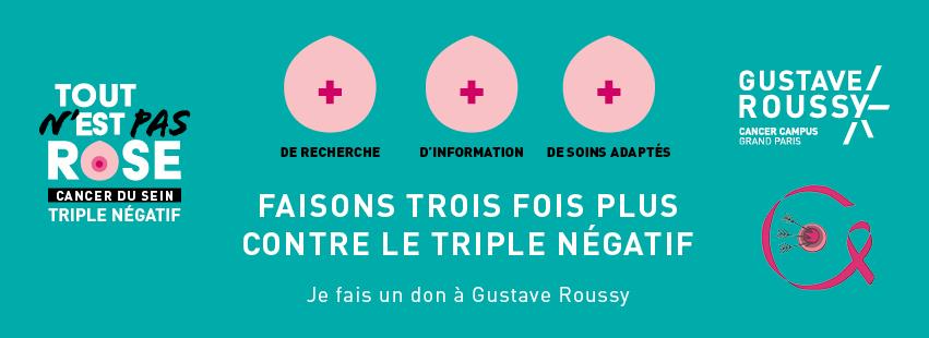 Mobilisez-vous contre le cancer du sein triple négatif