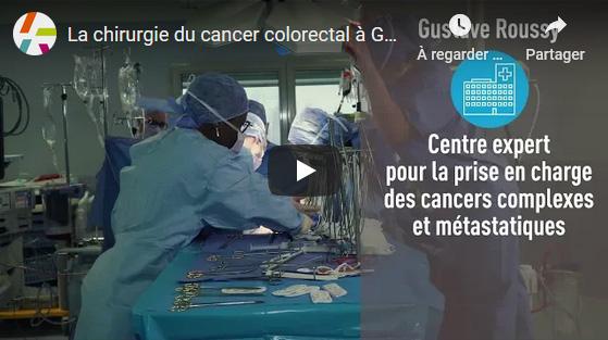 La chirurgie du cancer colorectal à Gustave Roussy