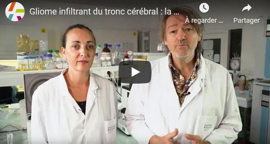Gliome infiltrant du tronc cérébral : la recherche progresse