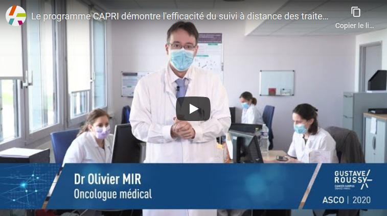 Le programme CAPRI démontre l'efficacité du suivi à distance des traitements oraux