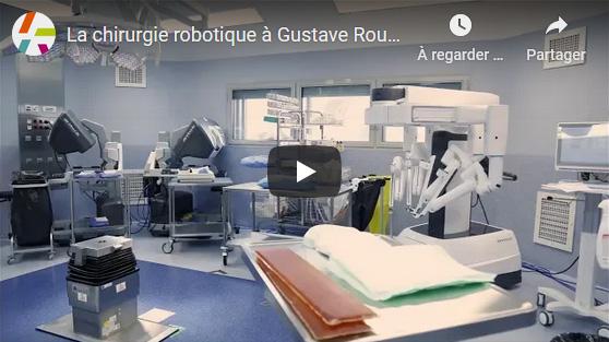 La chirurgie robotique à Gustave Roussy
