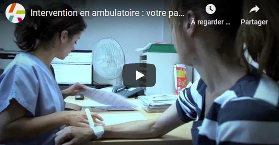 Intervention en ambulatoire : votre parcours