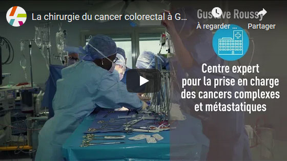 Chirgurie - cancer colorectal