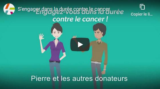 S'engager dans la durée contre le cancer
