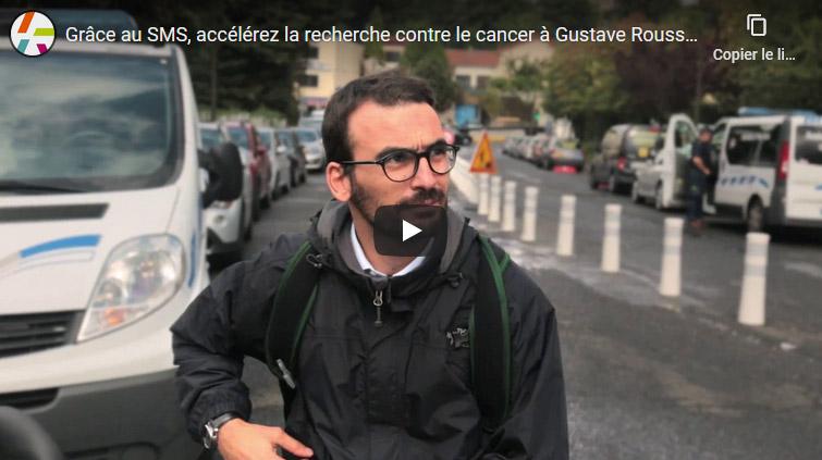 Grâce au SMS, accélérez la recherche contre le cancer à Gustave Roussy !