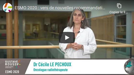 ESMO 2020 : vers de nouvelles recommandations pour la radiothérapie des cancers du poumon opérables