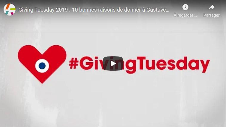 Giving Tuesday 2019 : 10 bonnes raisons de donner à Gustave Roussy