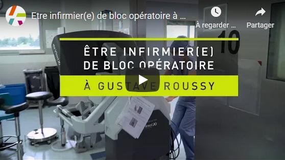 Etre infirmier(e) de bloc opératoire à Gustave Roussy